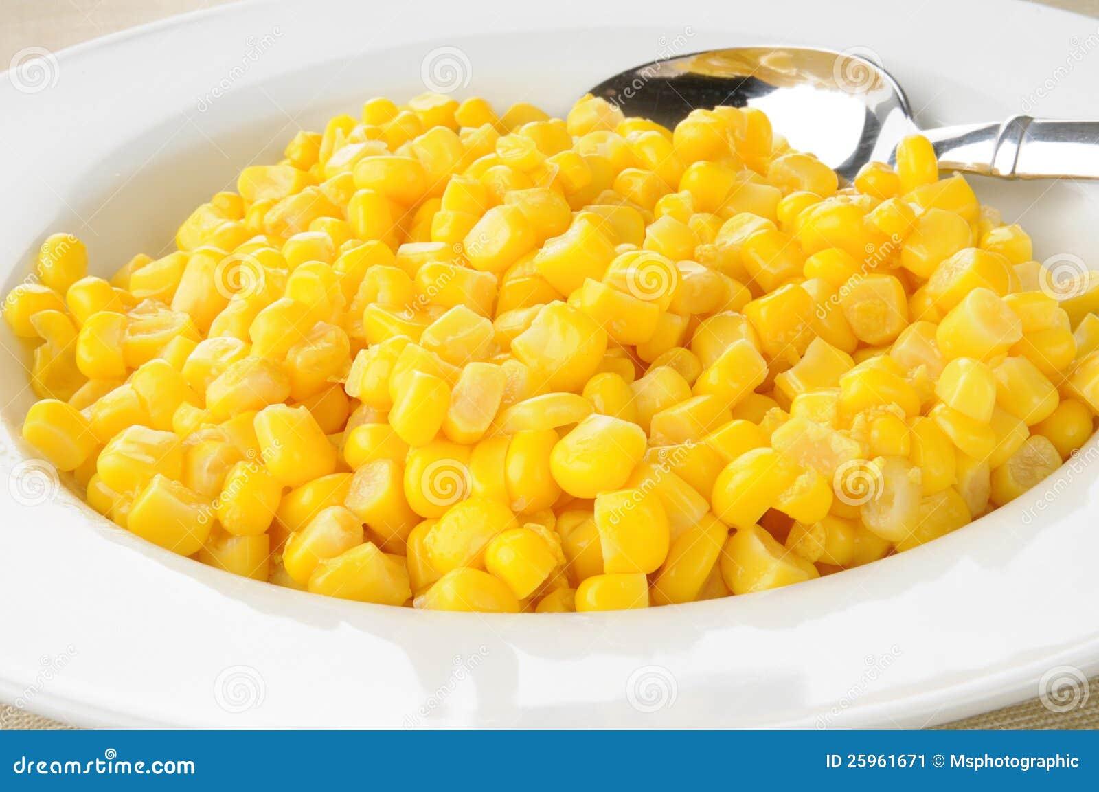 Bowl Of Corn Stock Image - Image: 25961671