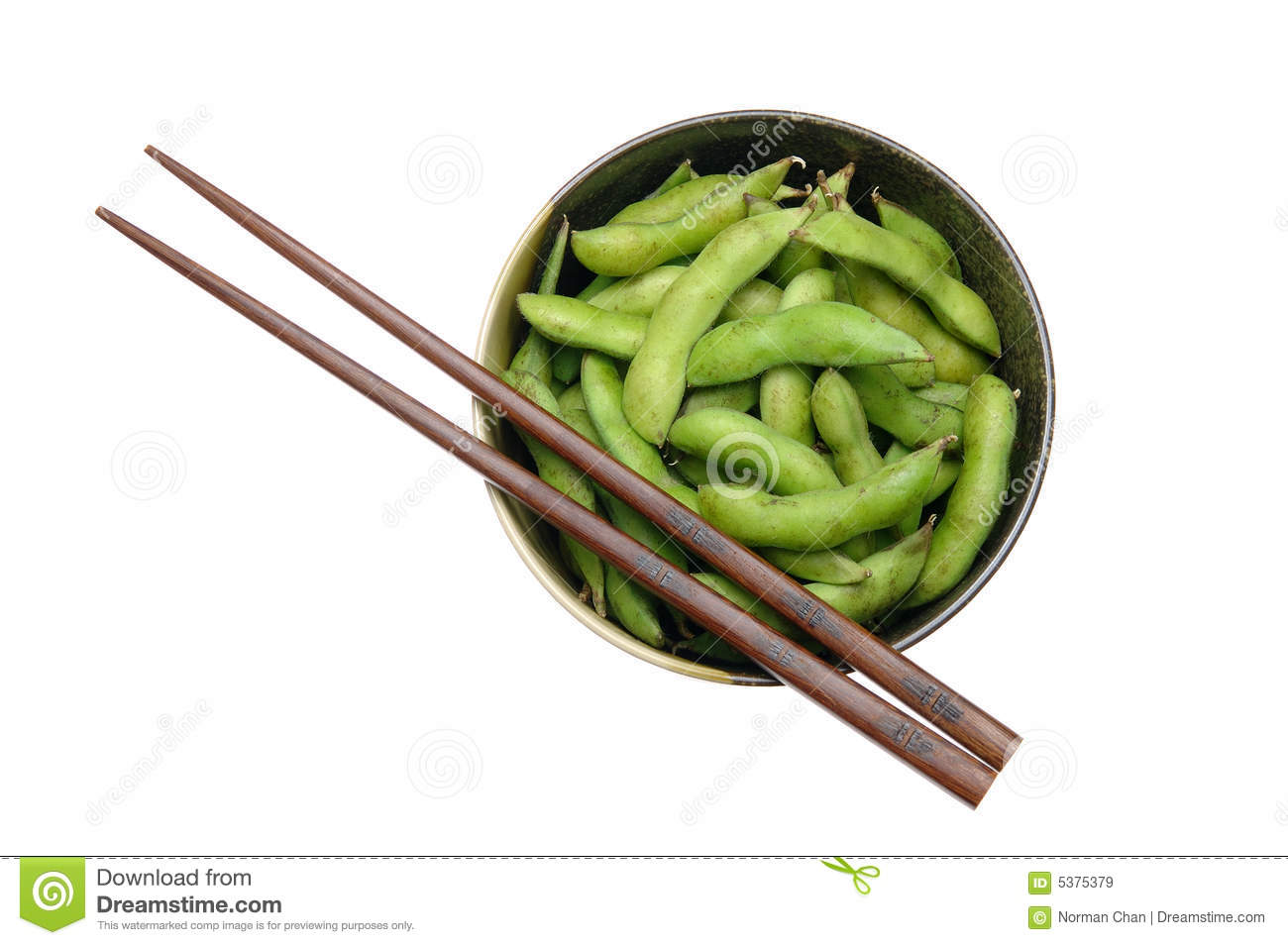 how to eat edamame with chopsticks