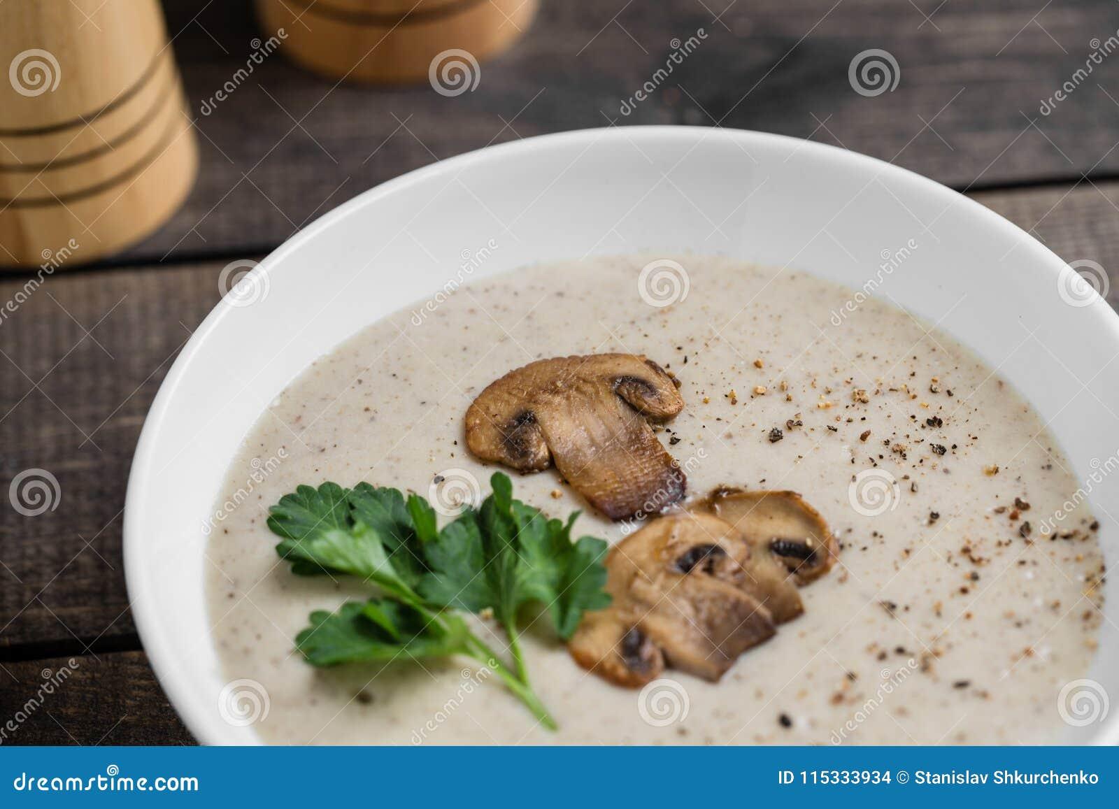 How to salt white mushrooms