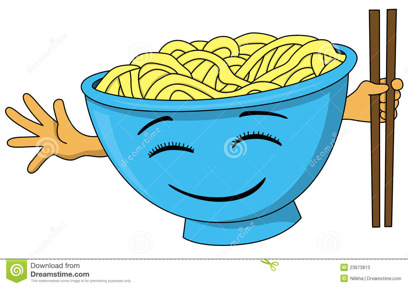 Bowl Of Noodles Stock Photos Image 23973813