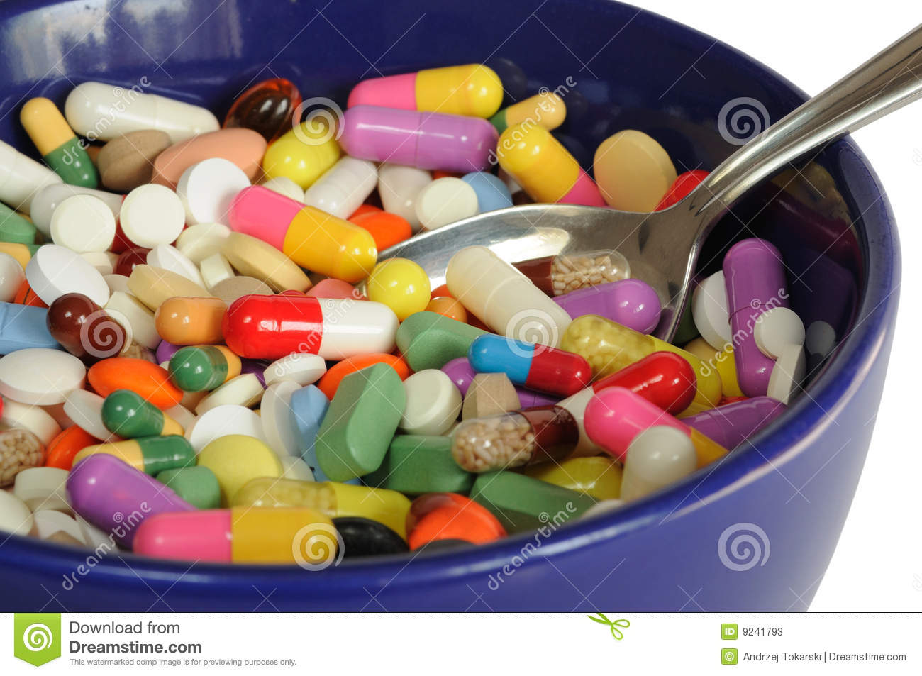 Kitchen Cabinet Making Plans Bowl With Pills Stock Photos Image 9241793