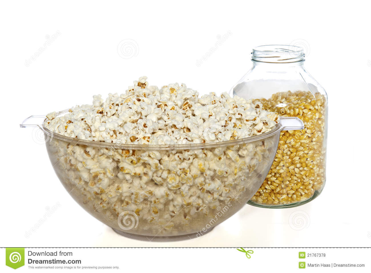 Unpopped Popcorn Kernel Clipart Bowl of popcorn and jar of