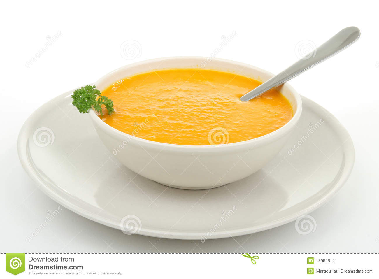 Bowl Of Soup Royalty Free Stock Images - Image: 16983819