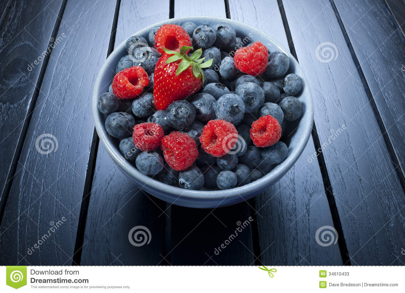 Bowl Of Summer Berries