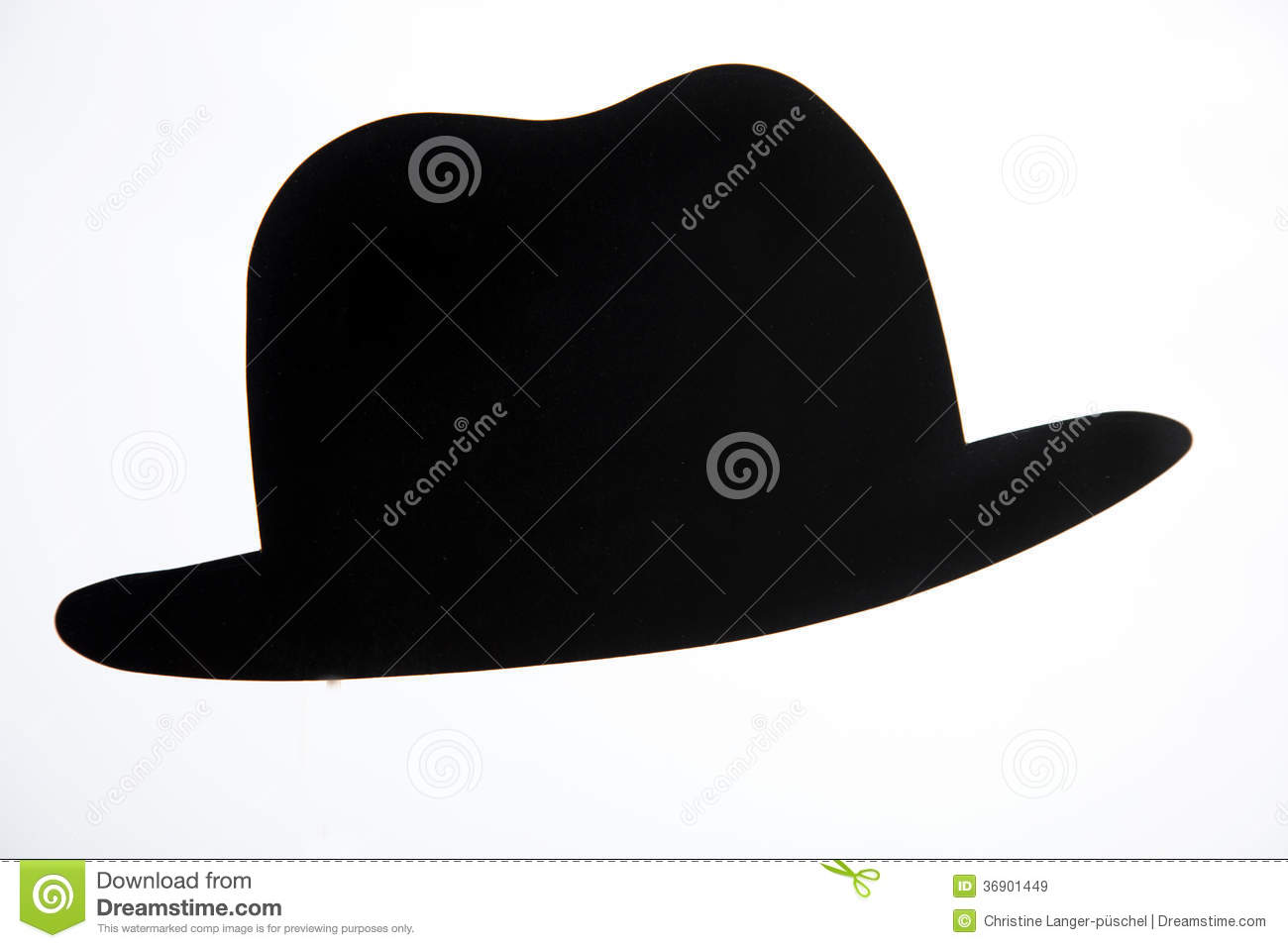 Bowler hat stock image. Image of accessory, amusement ...