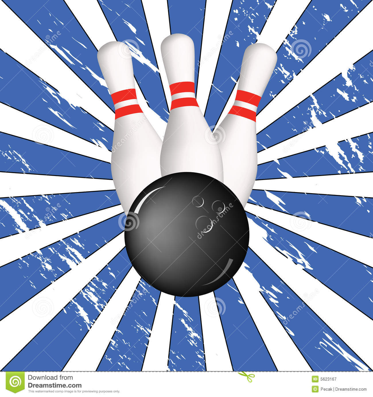 bowling background royalty free stock photography