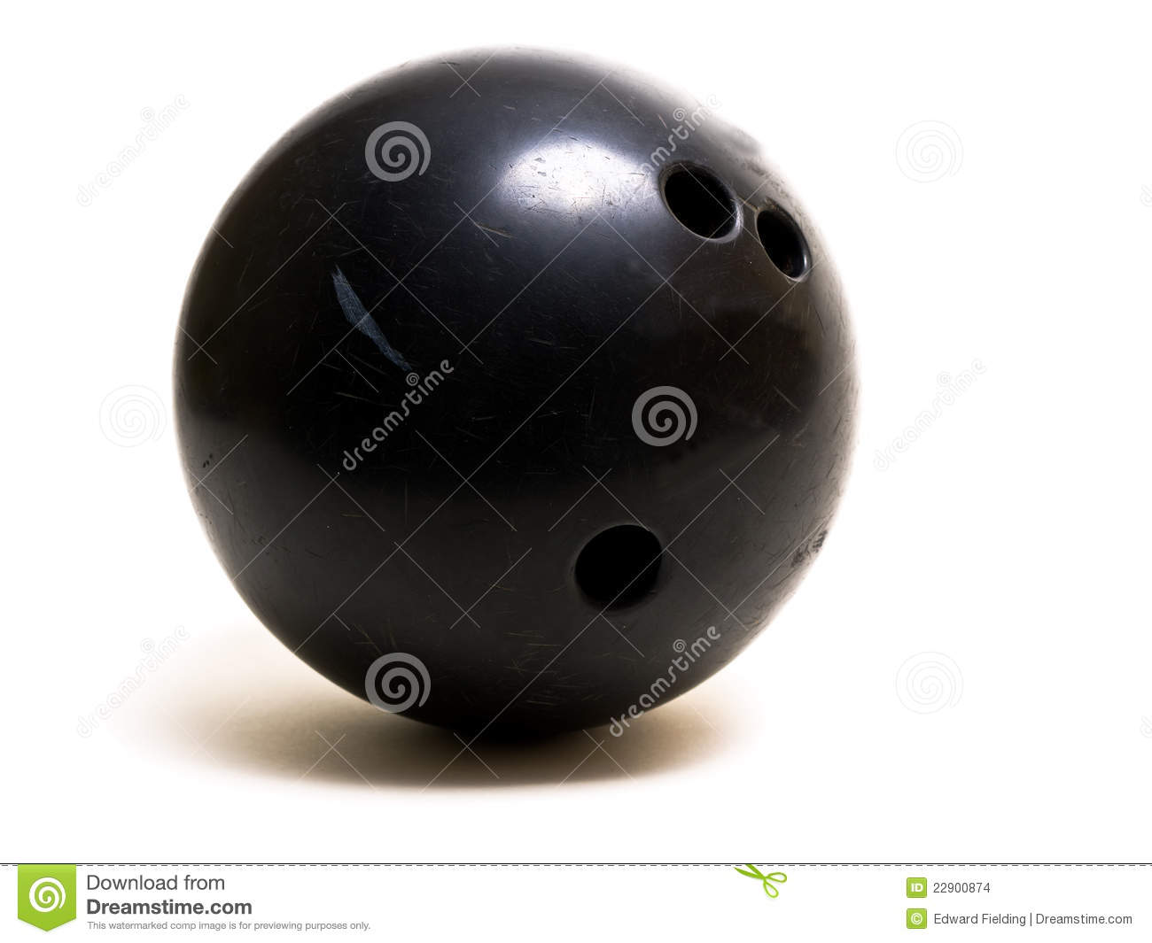 how to clean a bowling ball hole