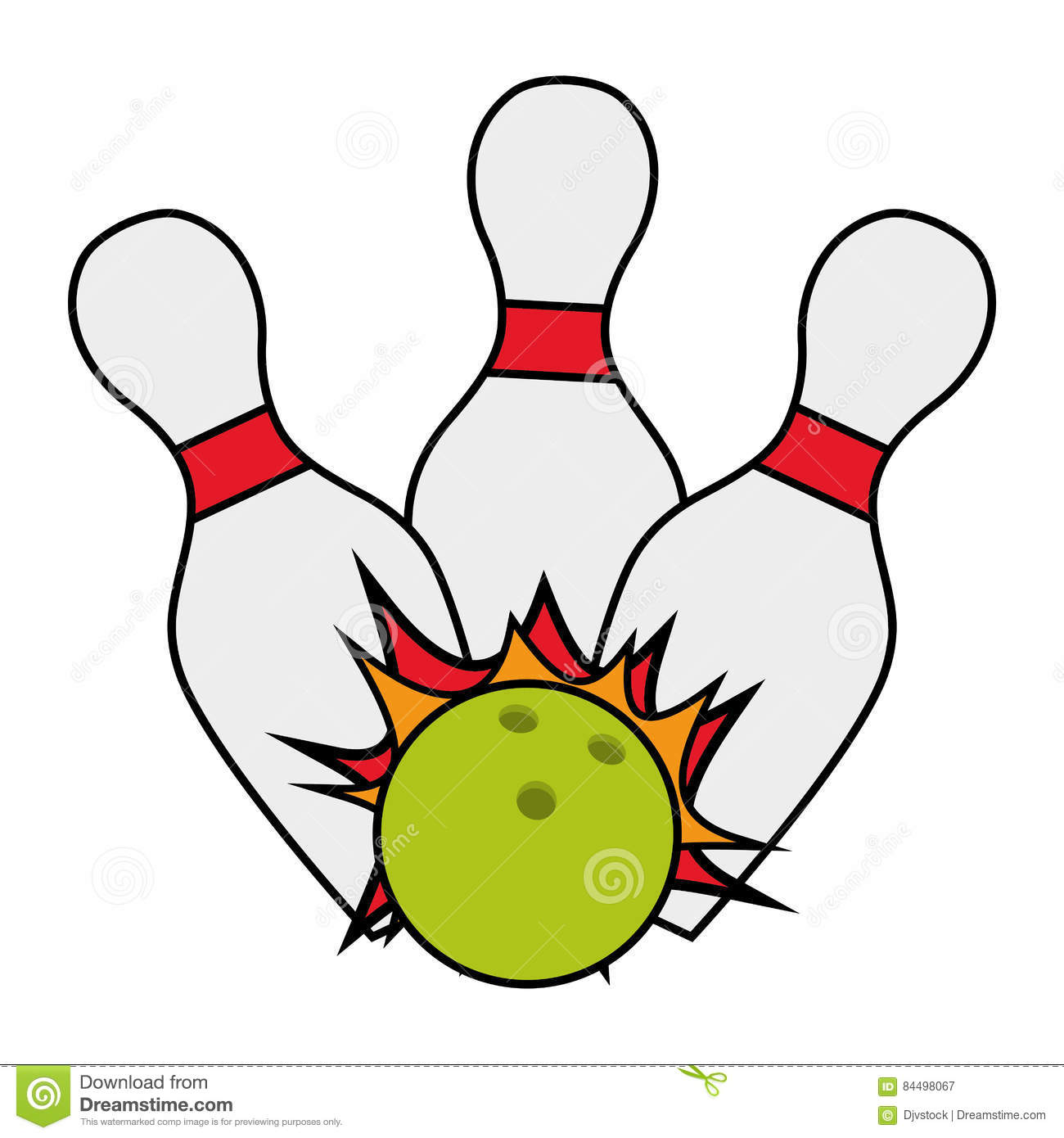 Bowling Ball Pin Strike Cartoon Stock Illustration Illustration Of Object Recreation 84498067 A chameleon king green lizard cartoon character wearing a crown illustration. dreamstime com