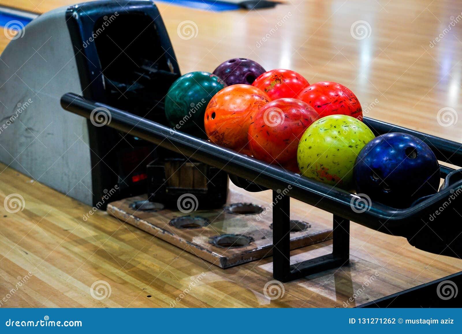 The bowling balls