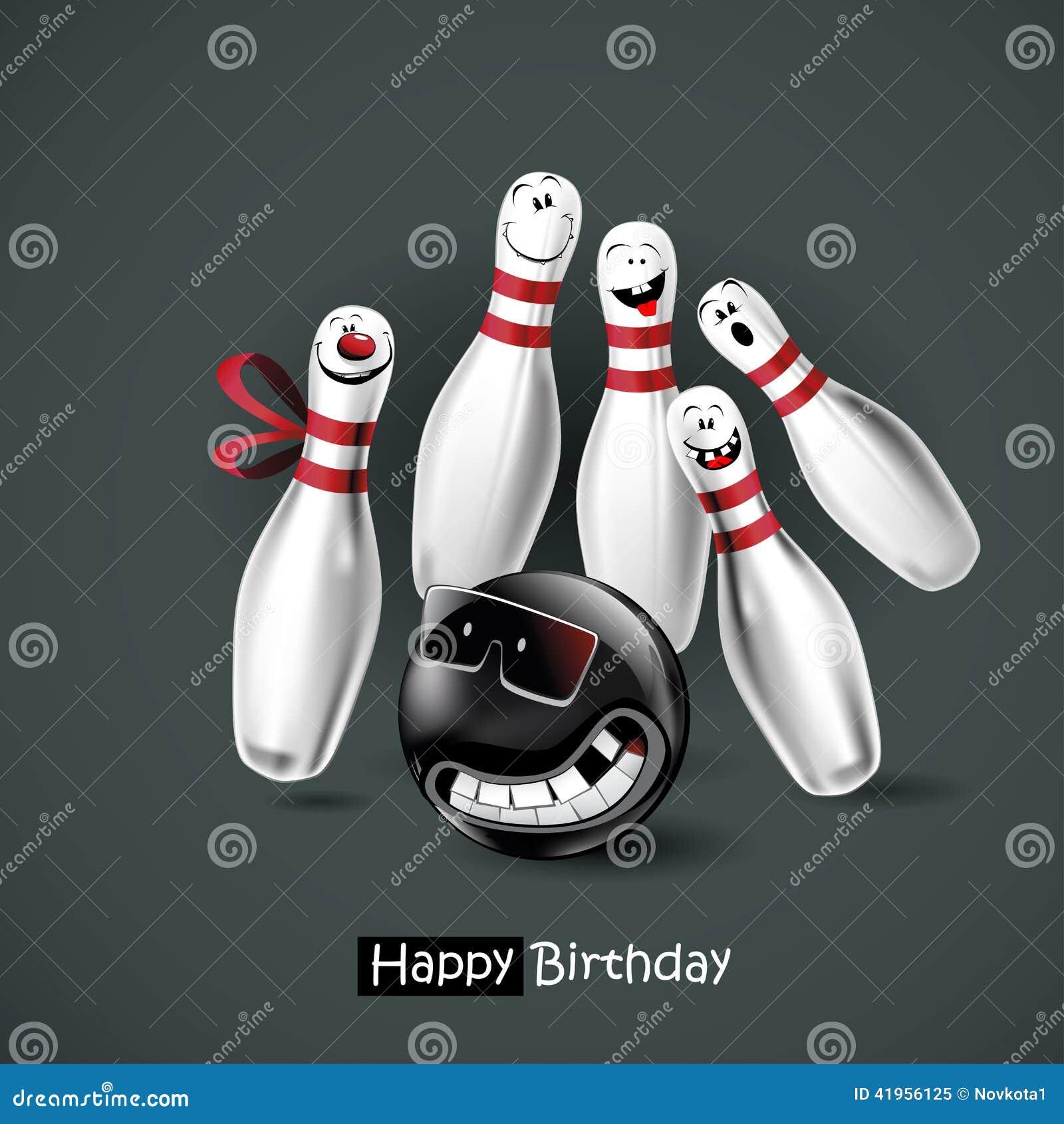 joyeux anniversaire bowling