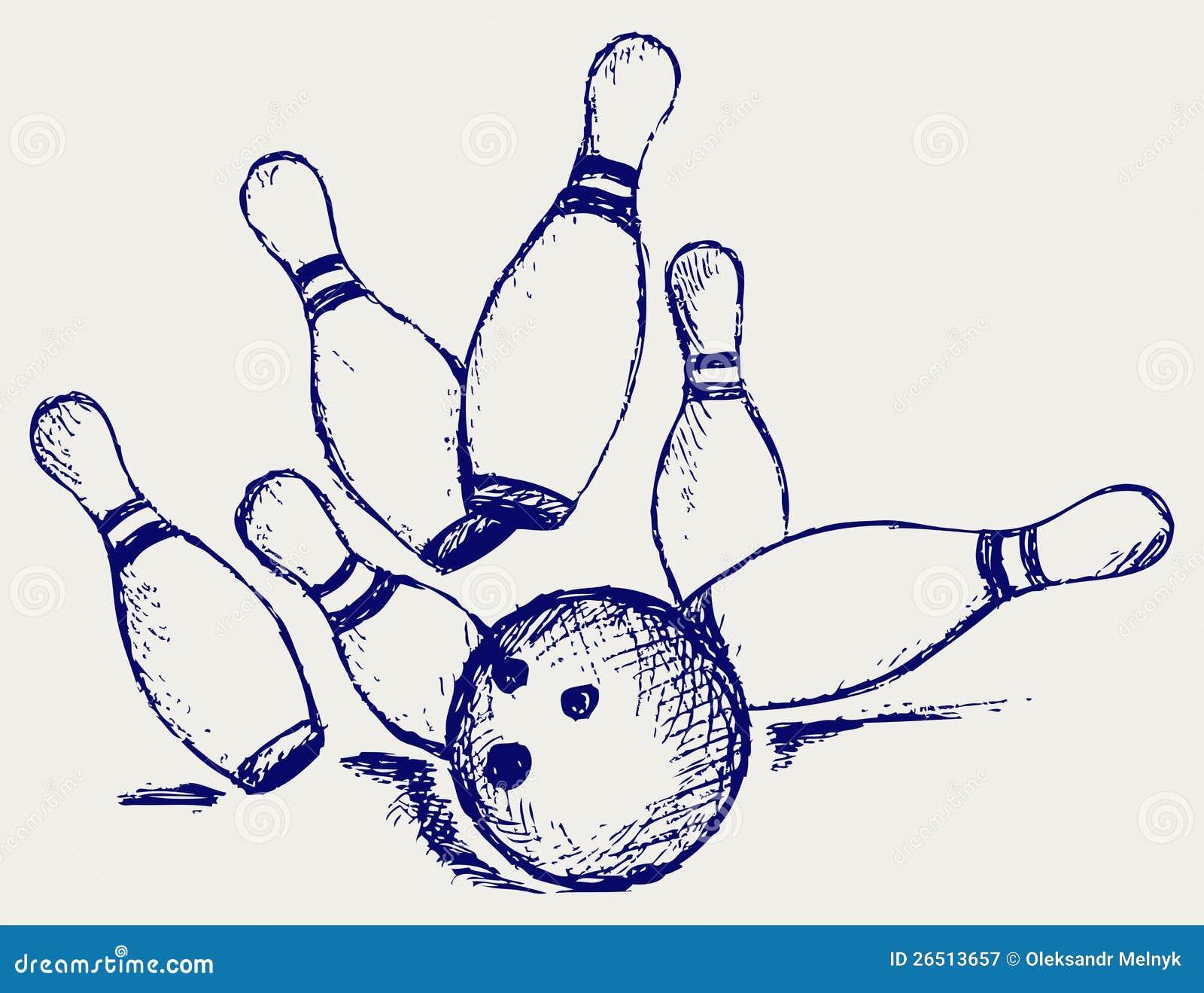 Bowling do esboço
