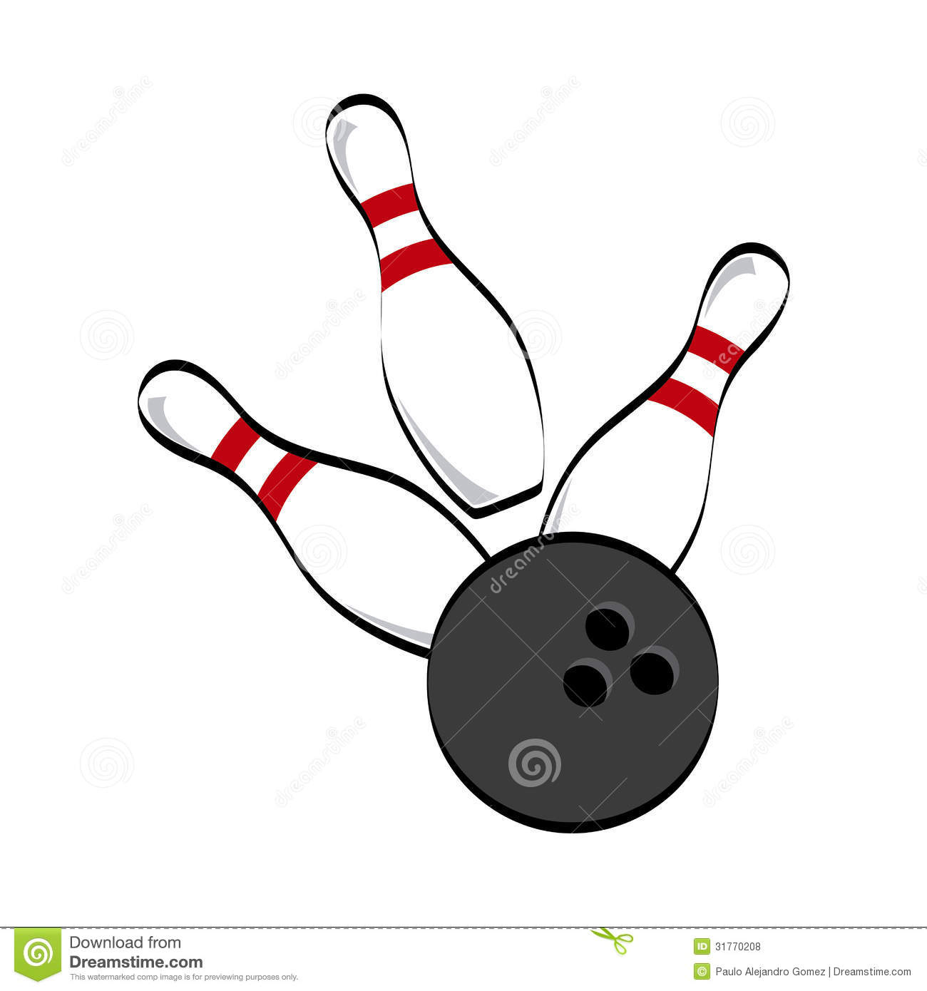 Bowling Icon Royalty Free Stock Photos - Image: 31770208
