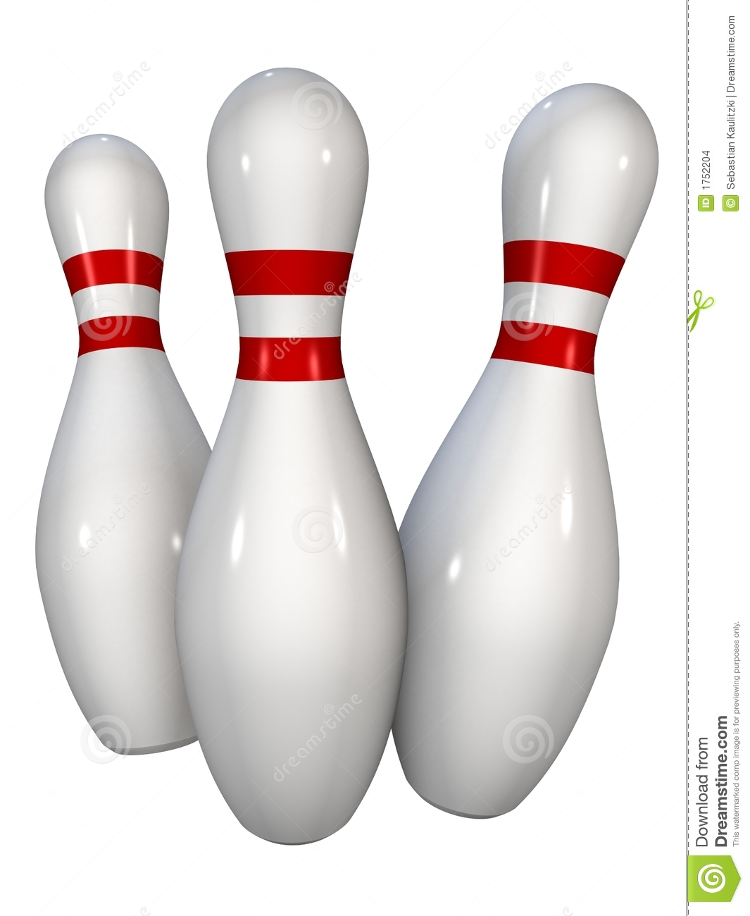 Bowling Pins Stock Images - Image: 1752204
