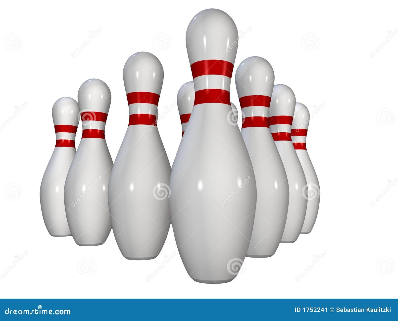 Bowling Pins Stock Image - Image: 1752241