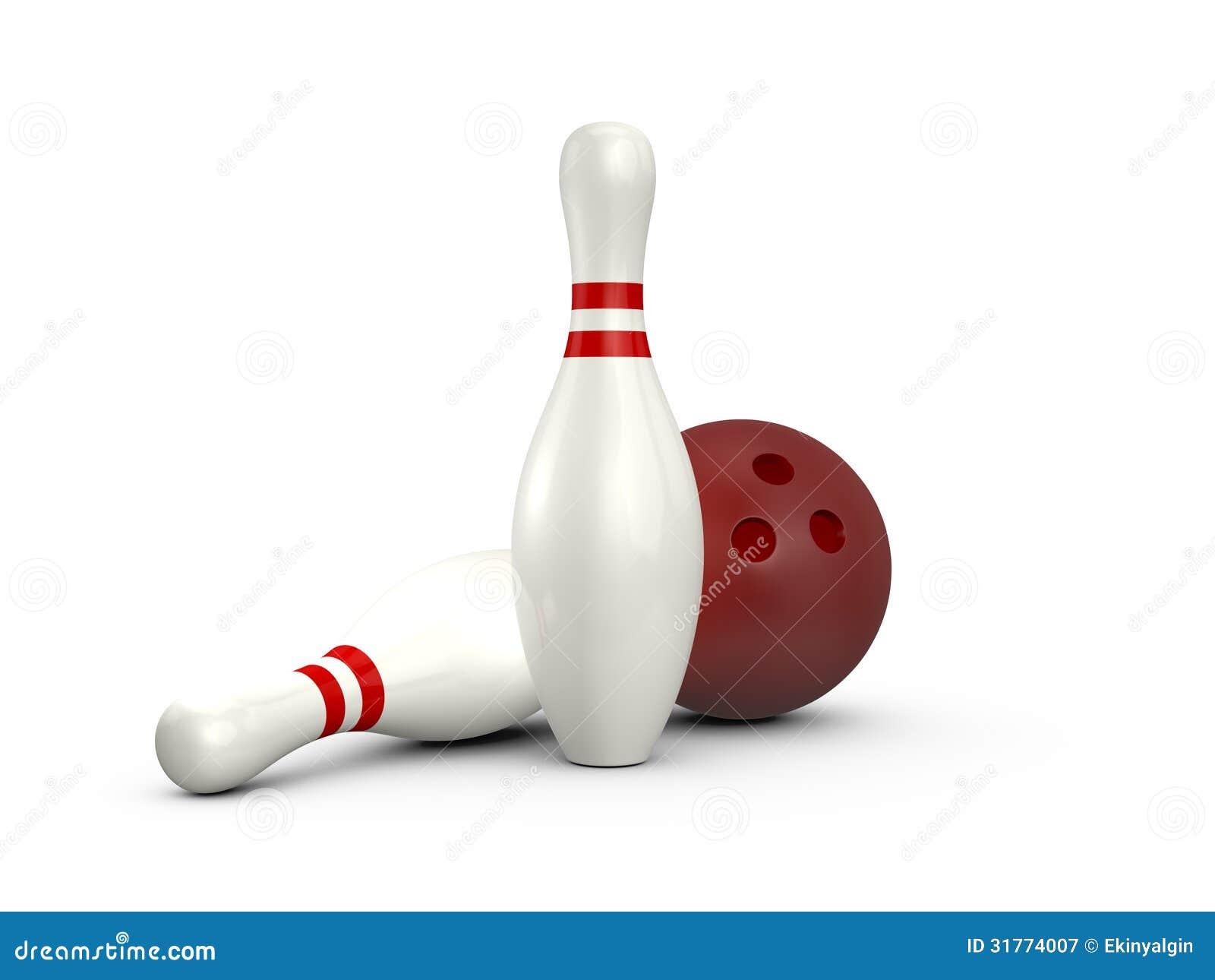 Bowling Pins An...