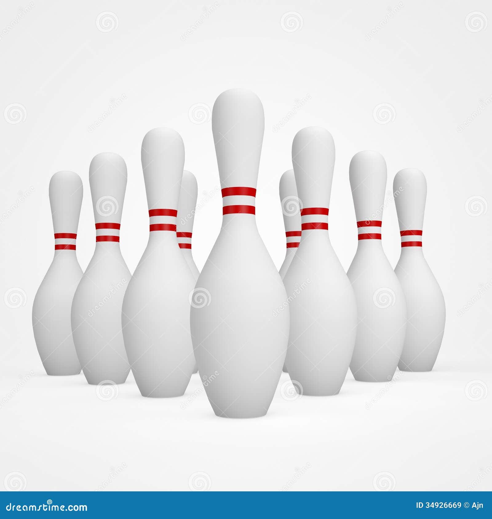 Bowling Pins Royalty F...