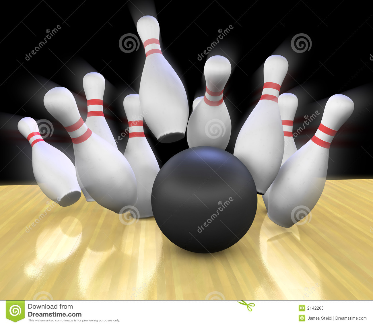 Bowling balls and pins pictures Coin Operated Bowling Alley - m