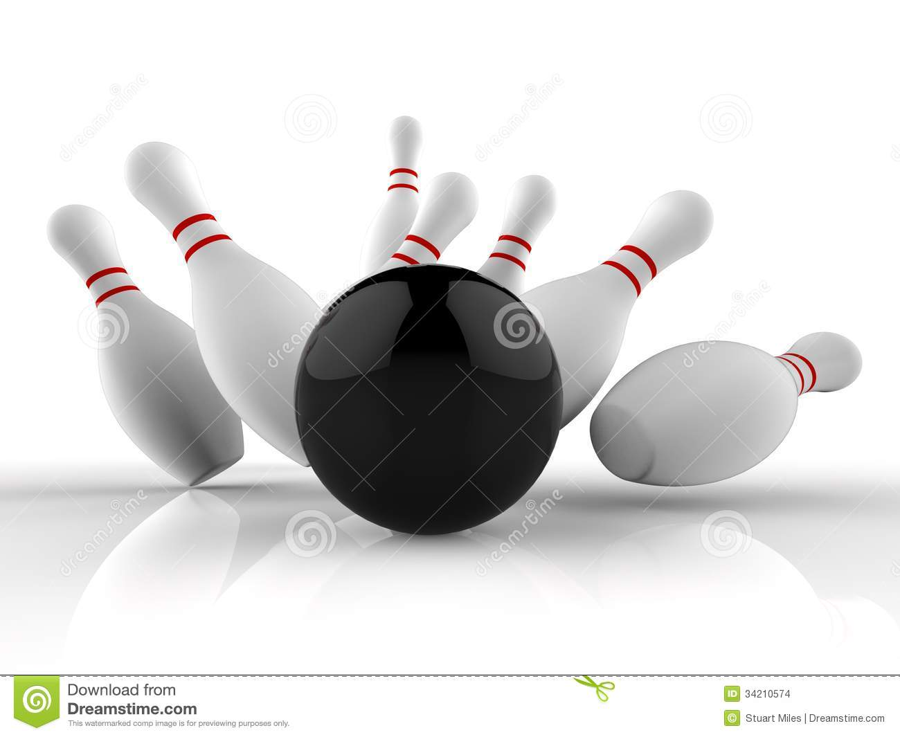 Ten Pin Bowling Strike
