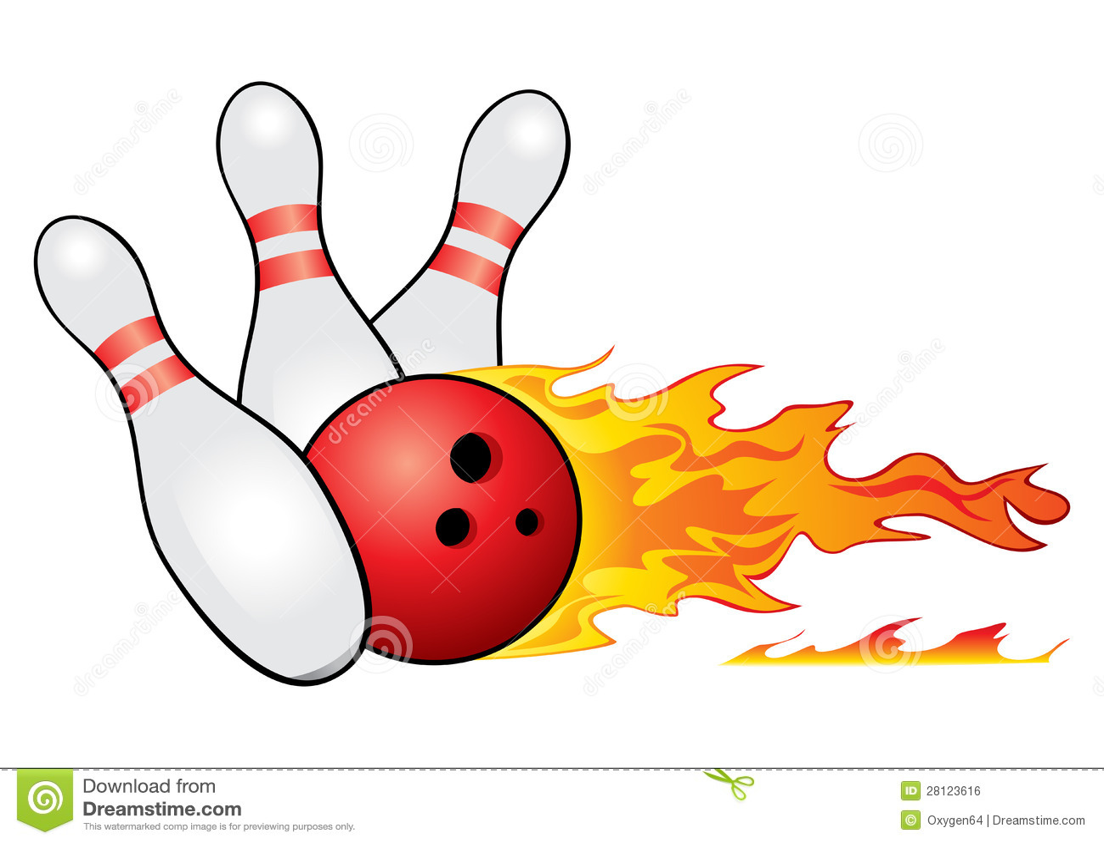 Bowling Symbol Royalty Free Stock Image - Image: 28123616