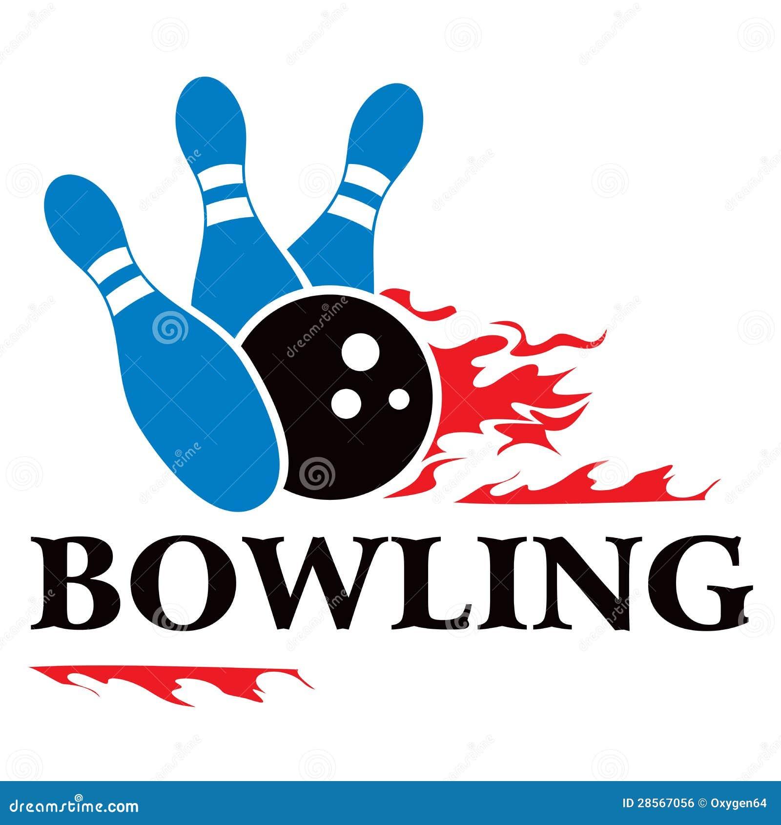 Bowling Symbol Royalty Free Stock Image Image 28567056