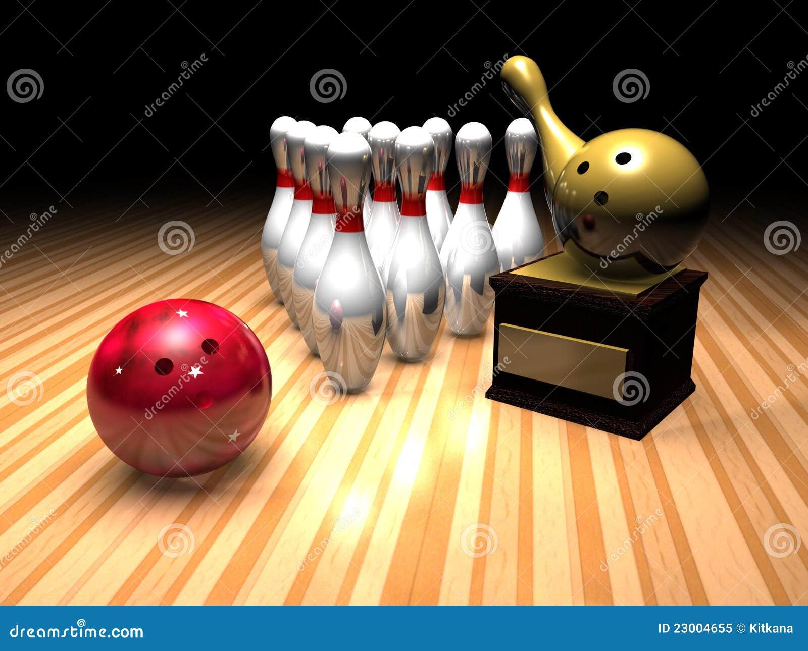 Bowling Winner Stock Illustration Image Of Shape Reward