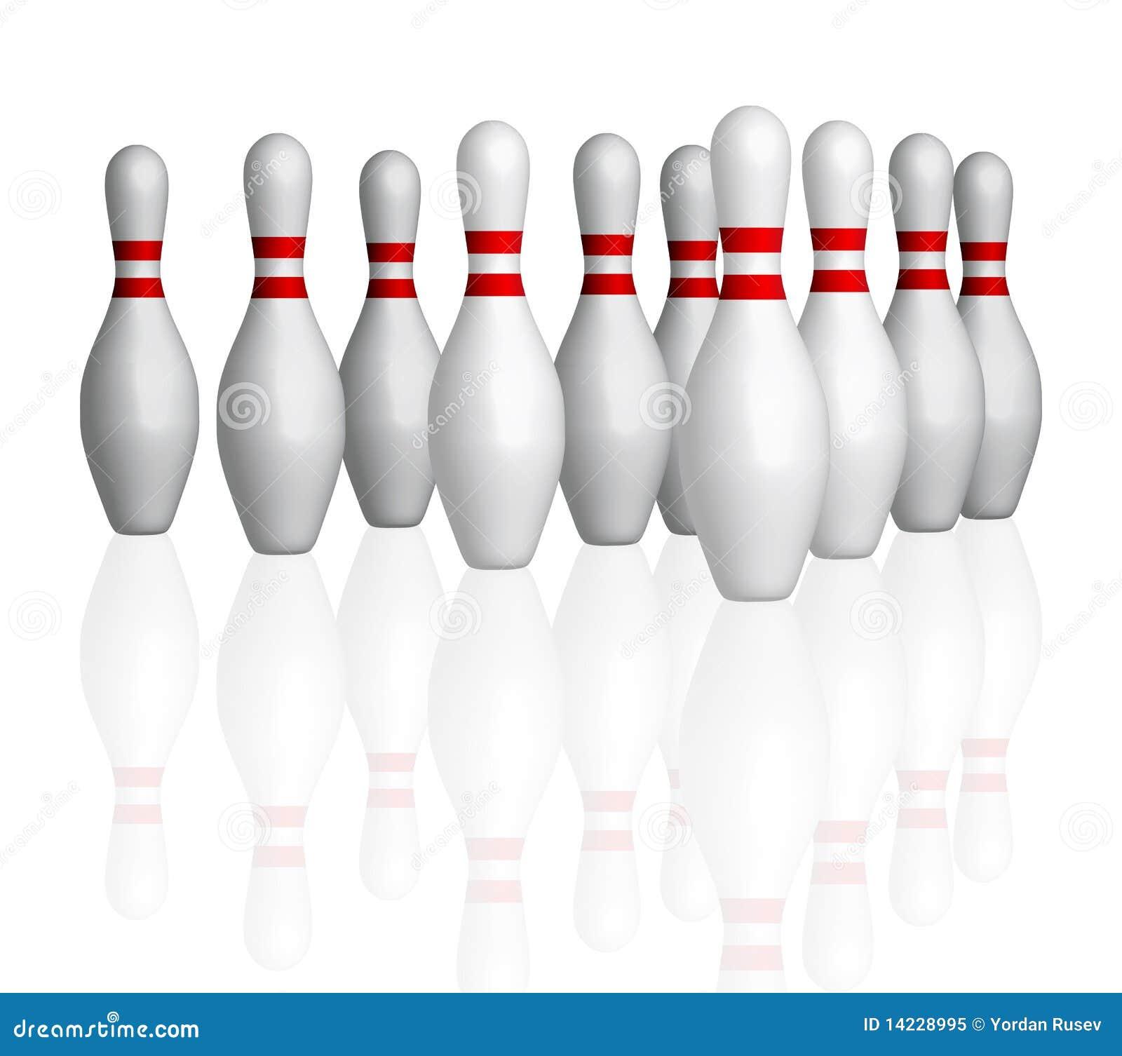 Bowlings Stifte