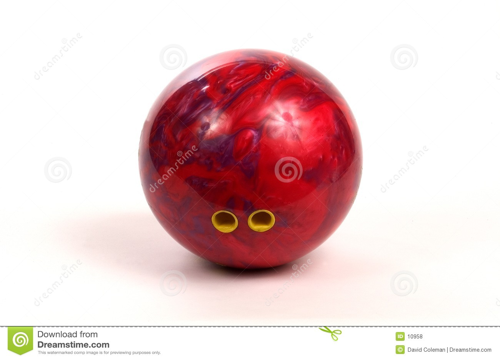 Bowlingspiel-Kugel