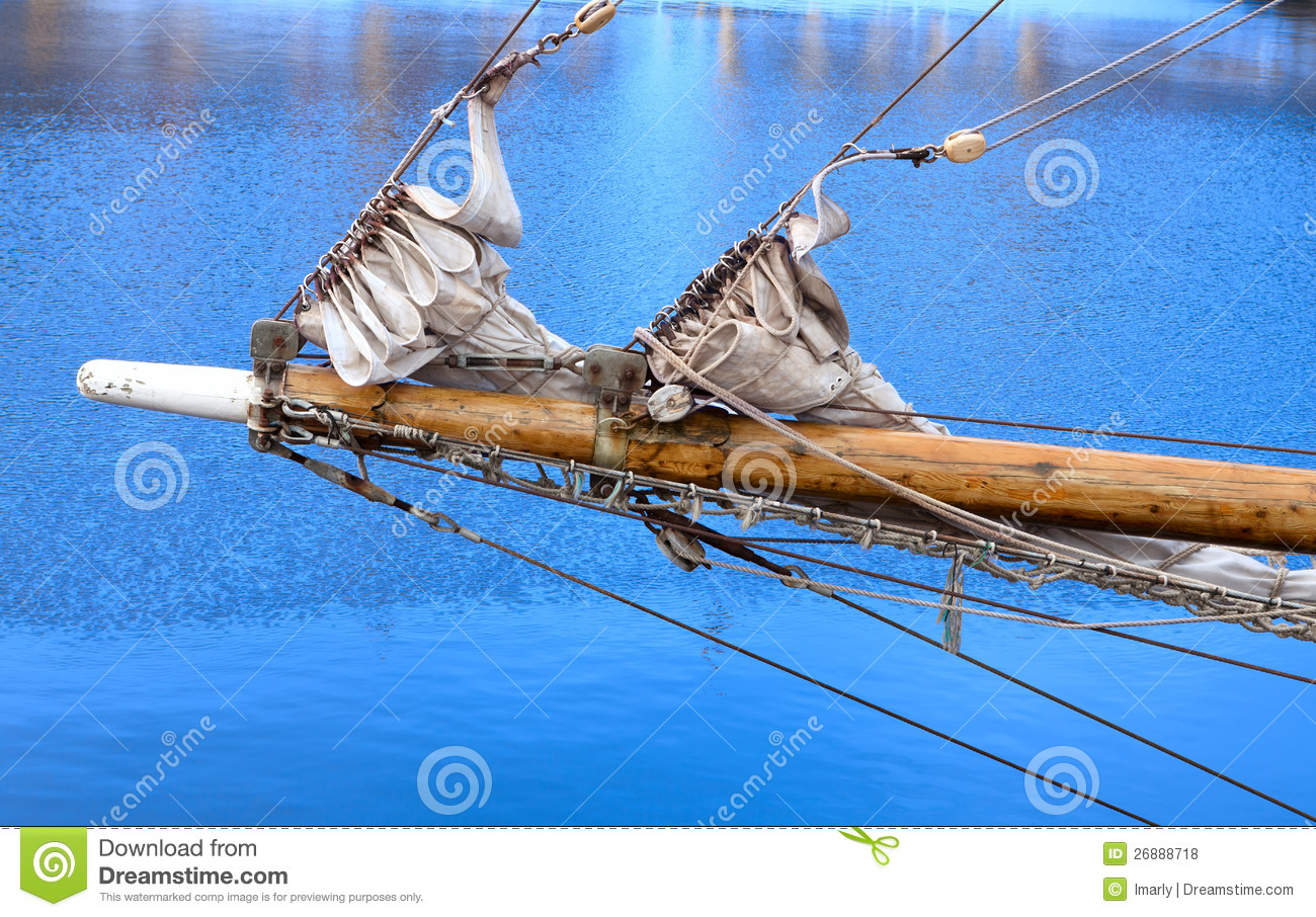 Bowsprit Of A Sailing Vessel Royalty Free Stock Photos - Image: 26888718