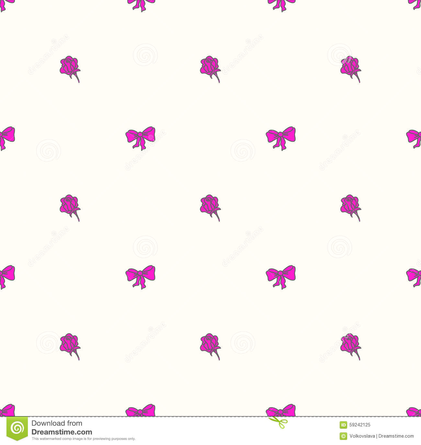 Download Bowtie Y Rosas Inconsútiles Del Modelo En Colores En Colores Pastel Ilustración del Vector - Ilustración de ilustración, agujas: 59242125