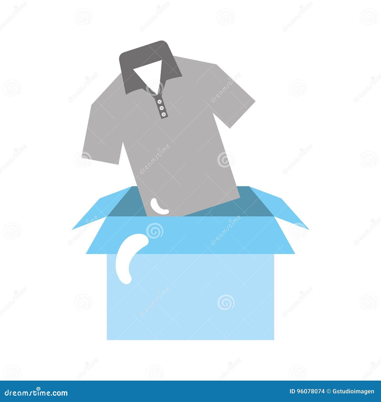 Custom Size Shirt Corrugated Packaging Box/ Luxury Tshirt Box ... | 1390x1300