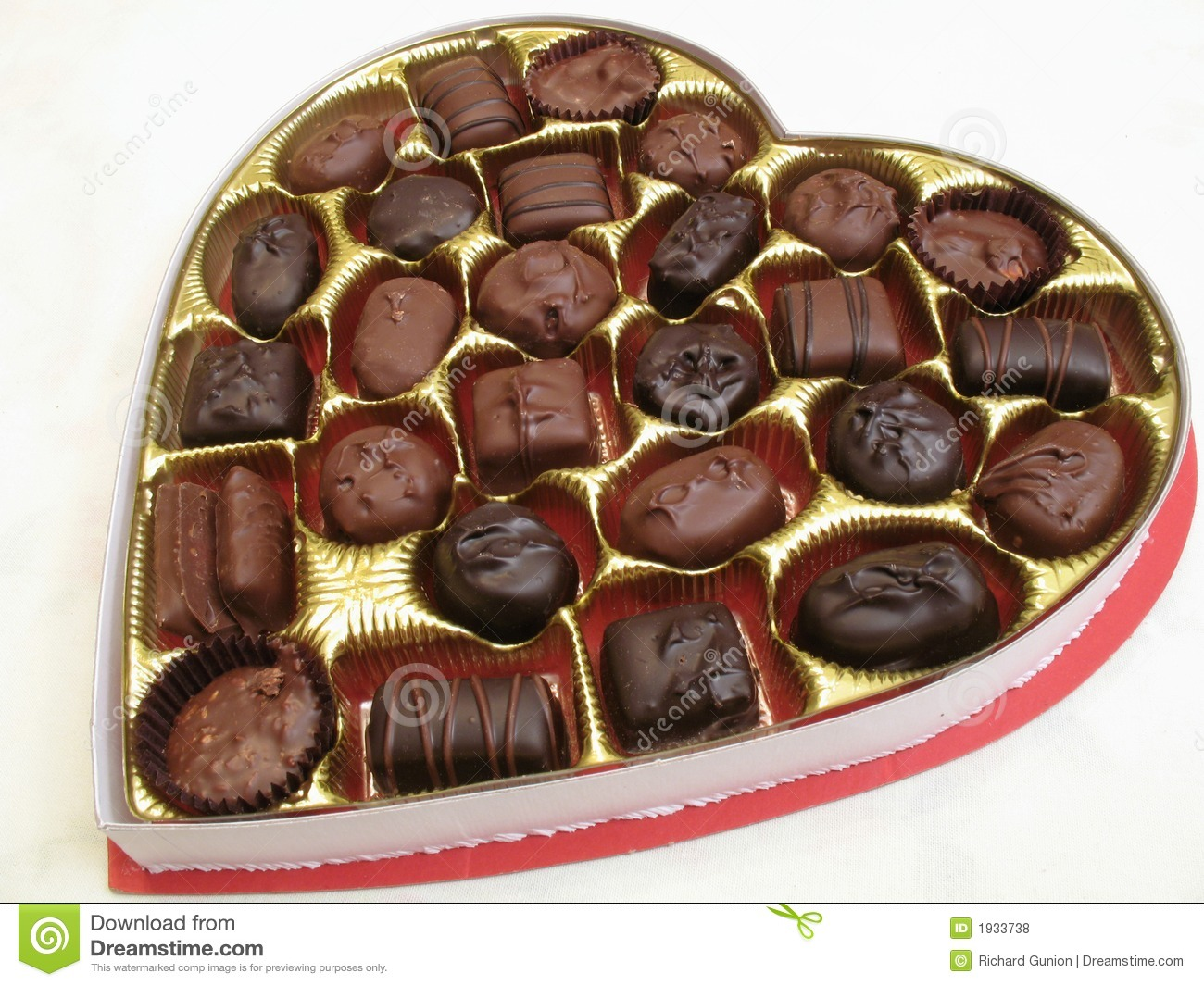 Box Of Chocolates Royalty Free Stock Photos - Image: 1933738