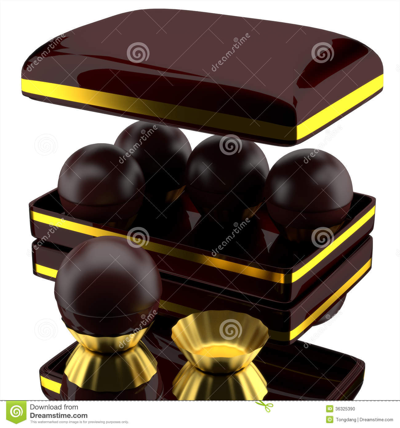 Box Of Chocolates. Stock Photo - Image: 36325390