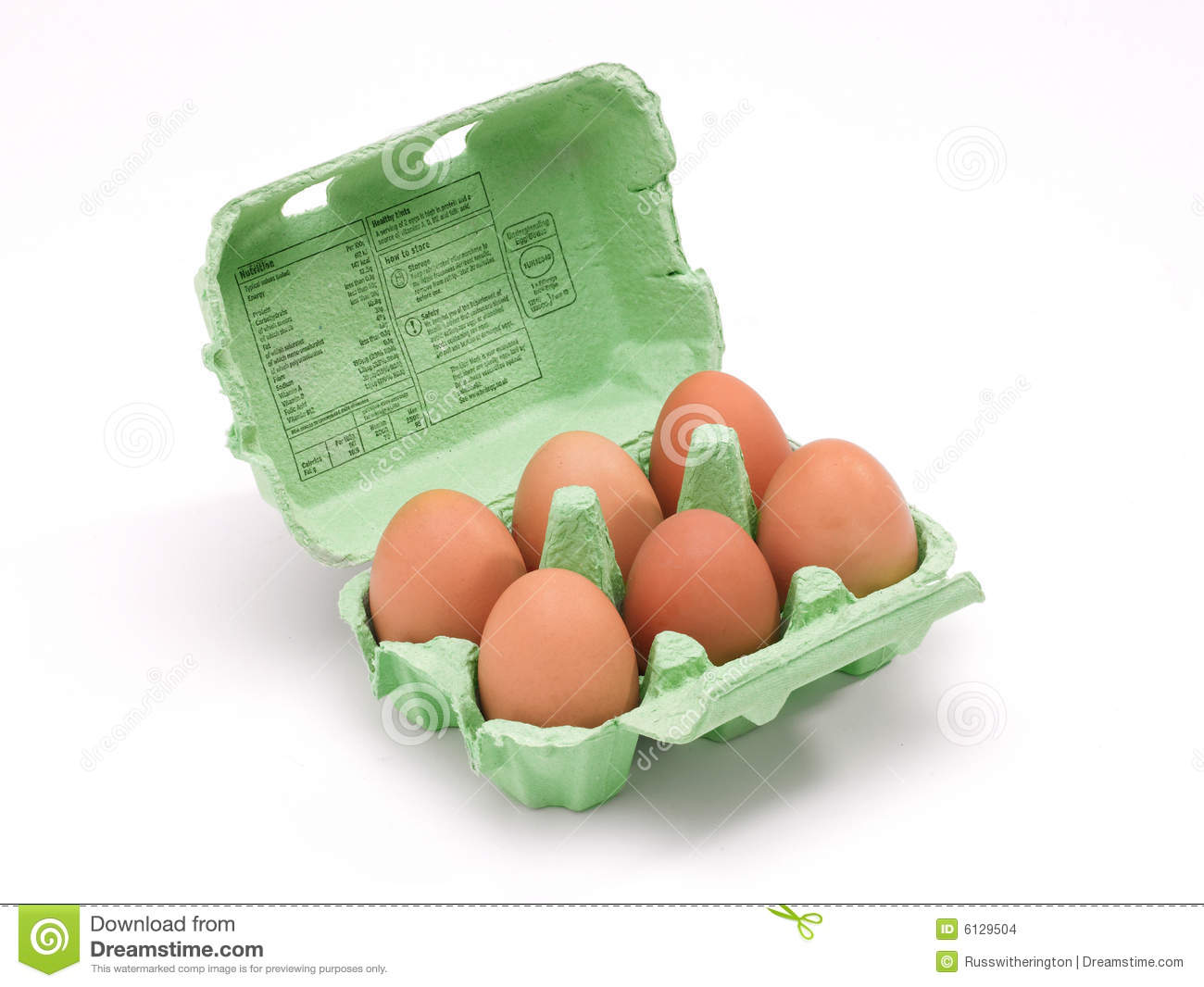 Box Of Eggs Stock Images - Image: 6129504