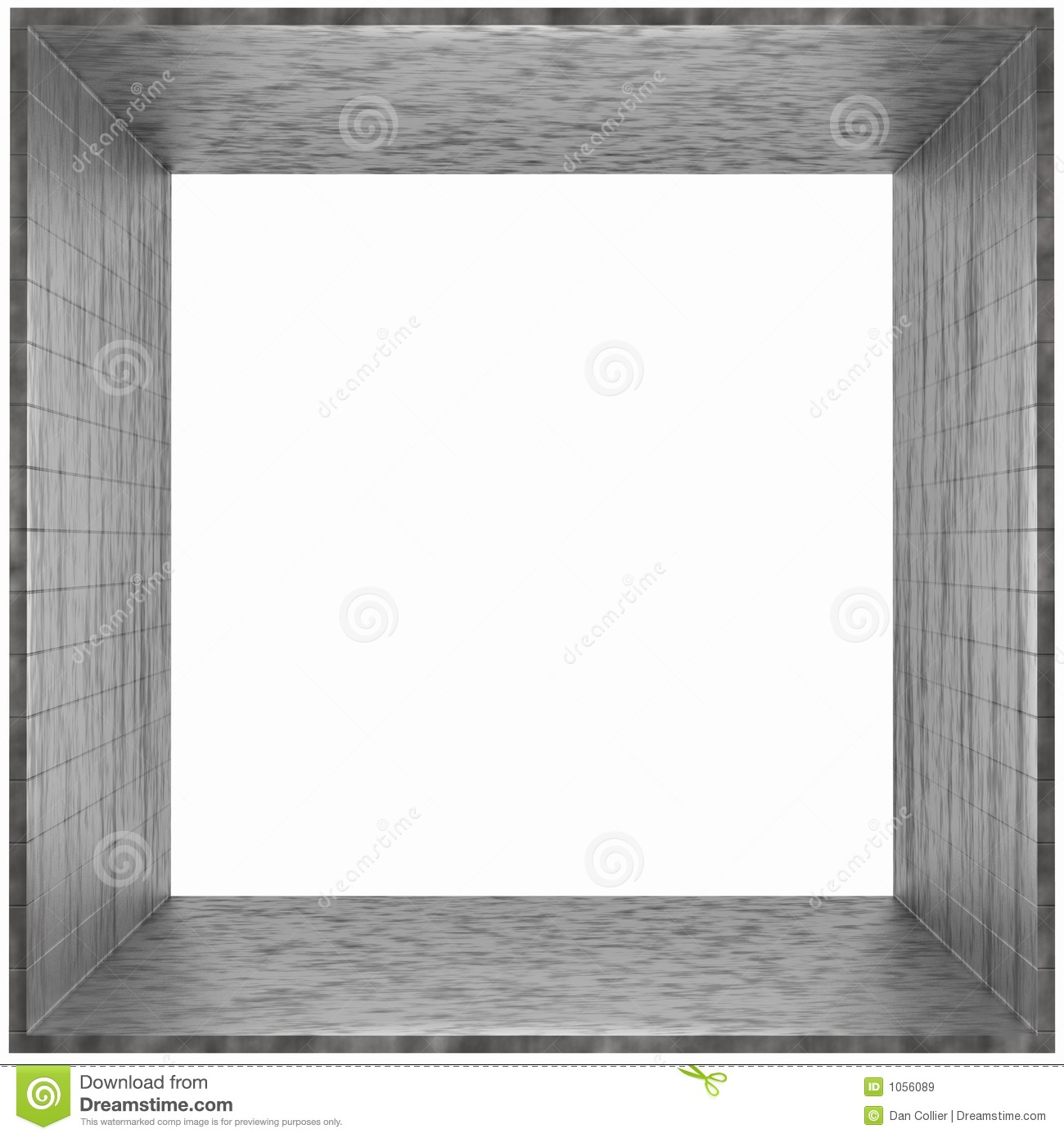 box frame gray cardboard royalty free stock images