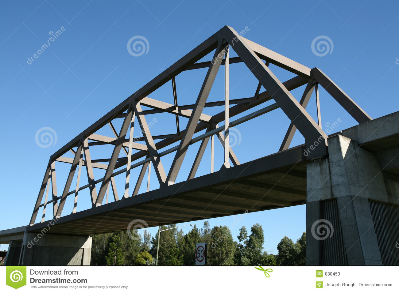 Box Girder Bridge Stock Image Image Of Support