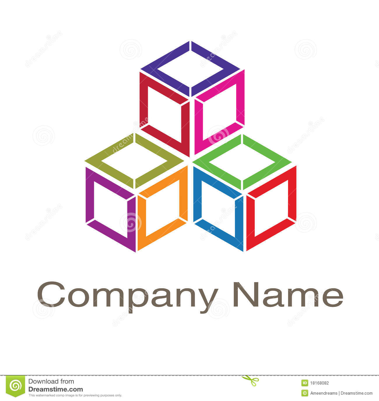 Box Logo Stock Illustration. Illustration Of Image, Tech