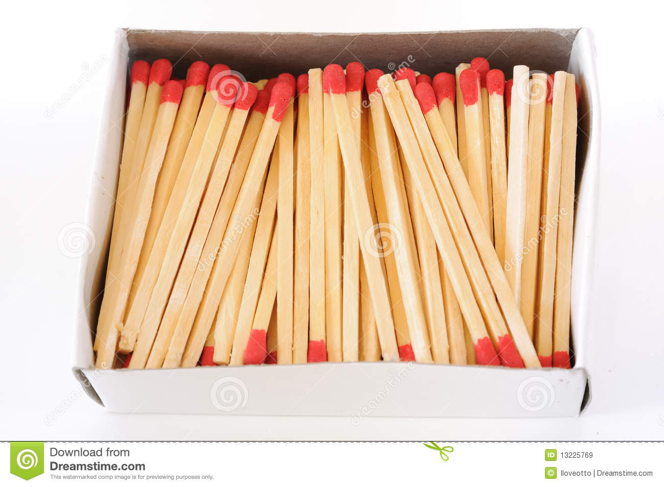 Box Of Match Stick Royalty Free Stock Images - Image: 13225769