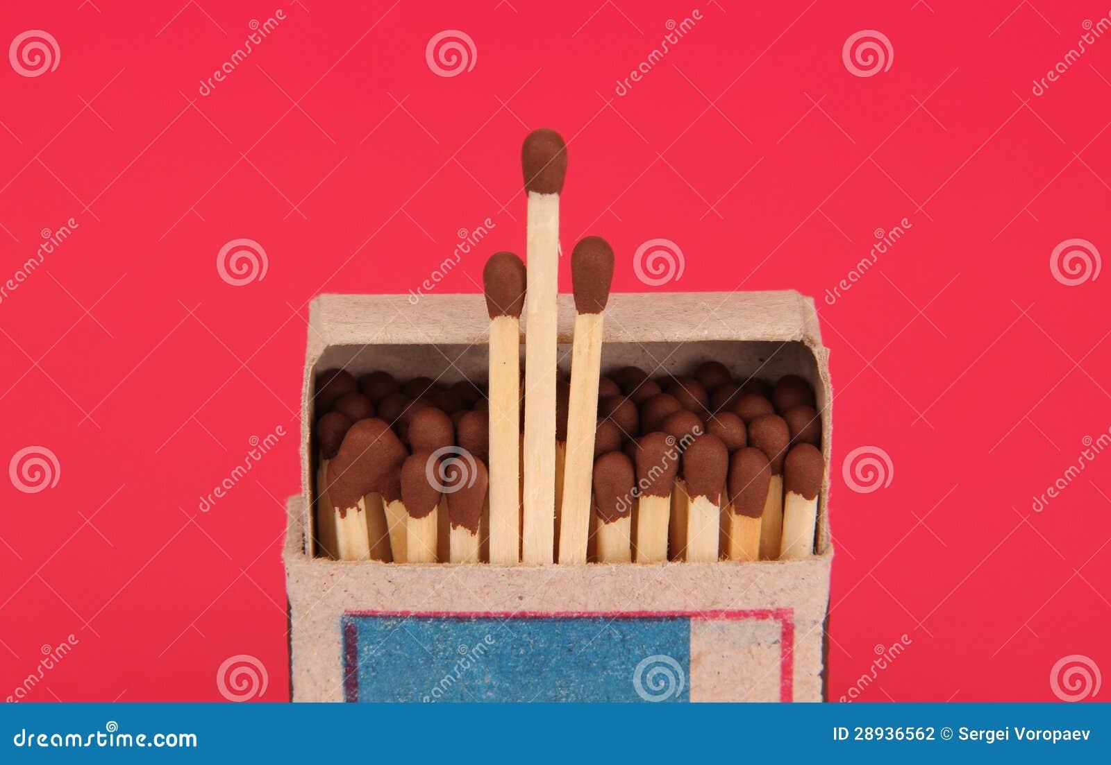 Box of matches.