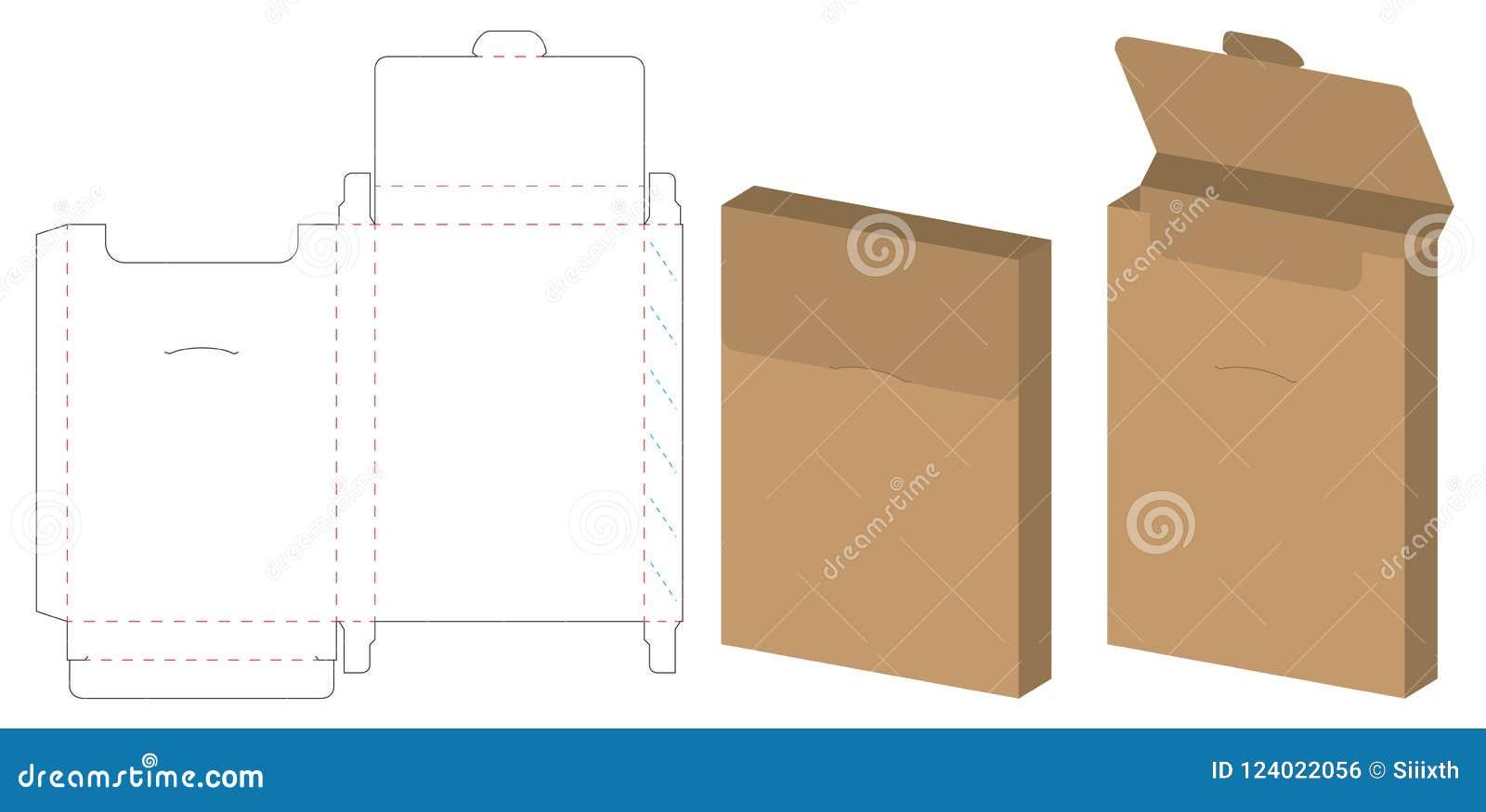 Box packaging die cut template design 3d mock up stock vector download box packaging die cut template design 3d mock up stock vector illustration malvernweather Choice Image