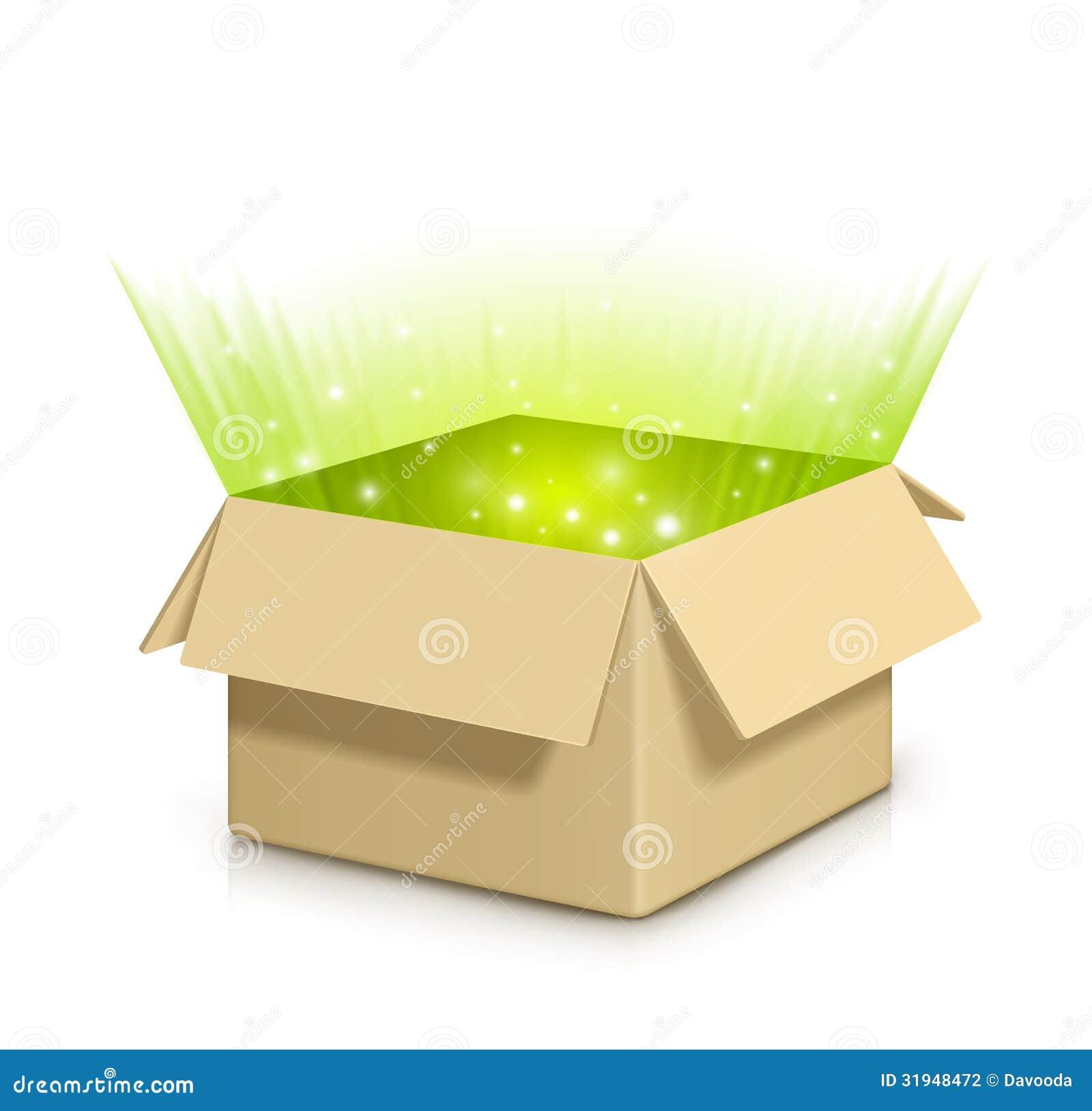 Box With Something Inside Stock Photography Image 31948472