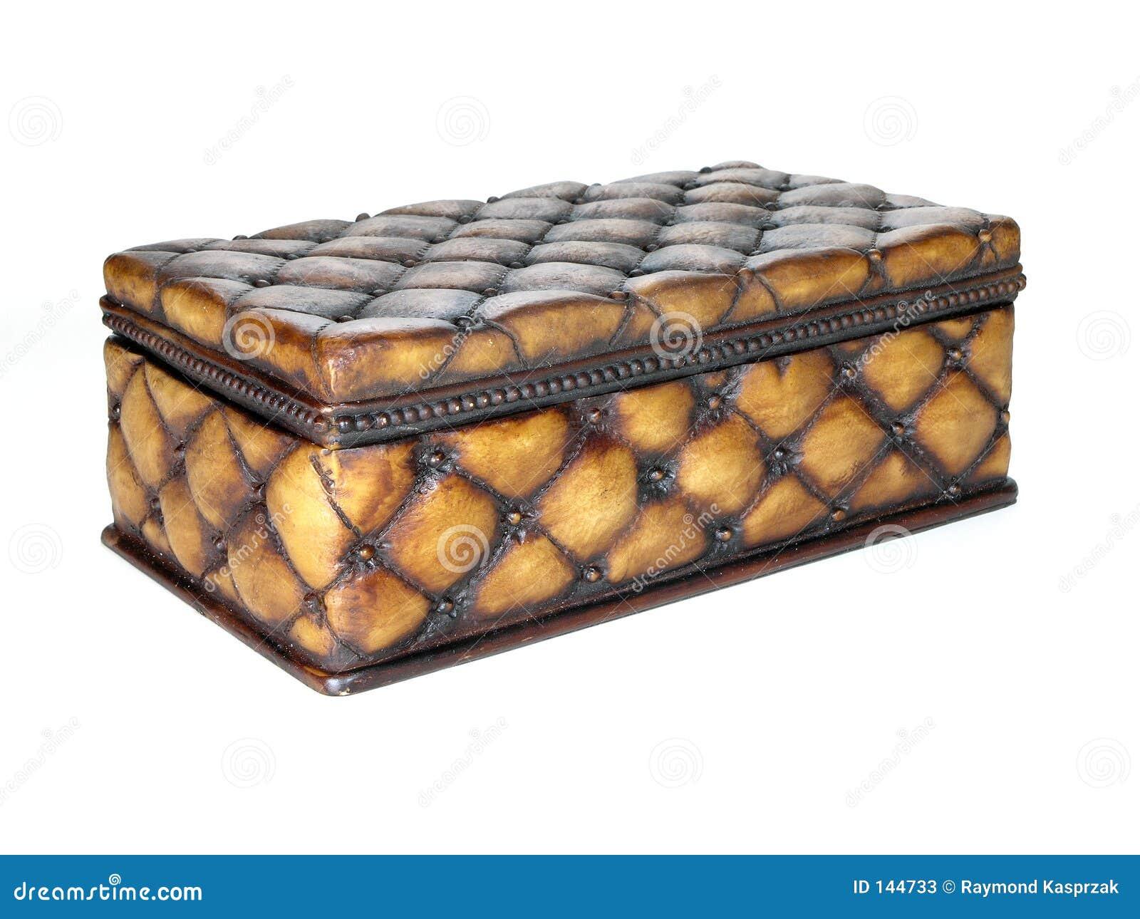 Box utsmyckat trä