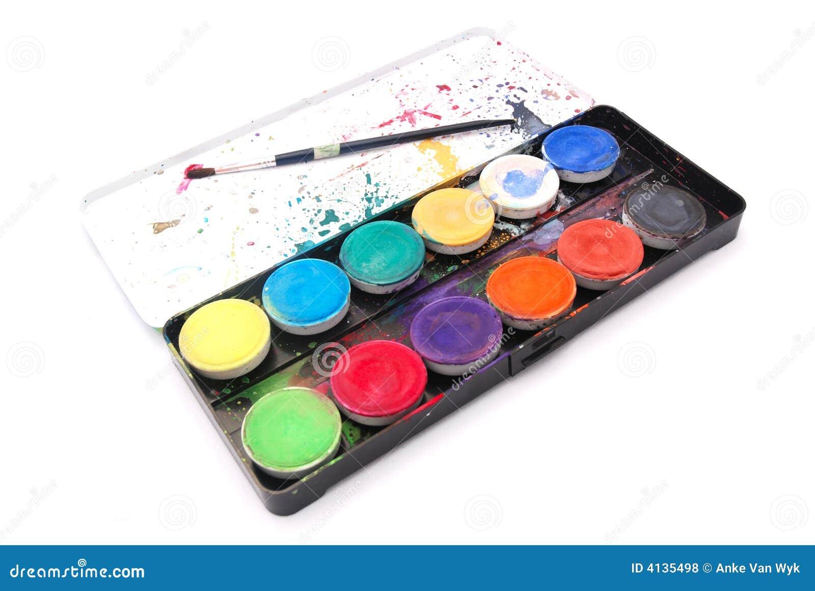 Box water colors