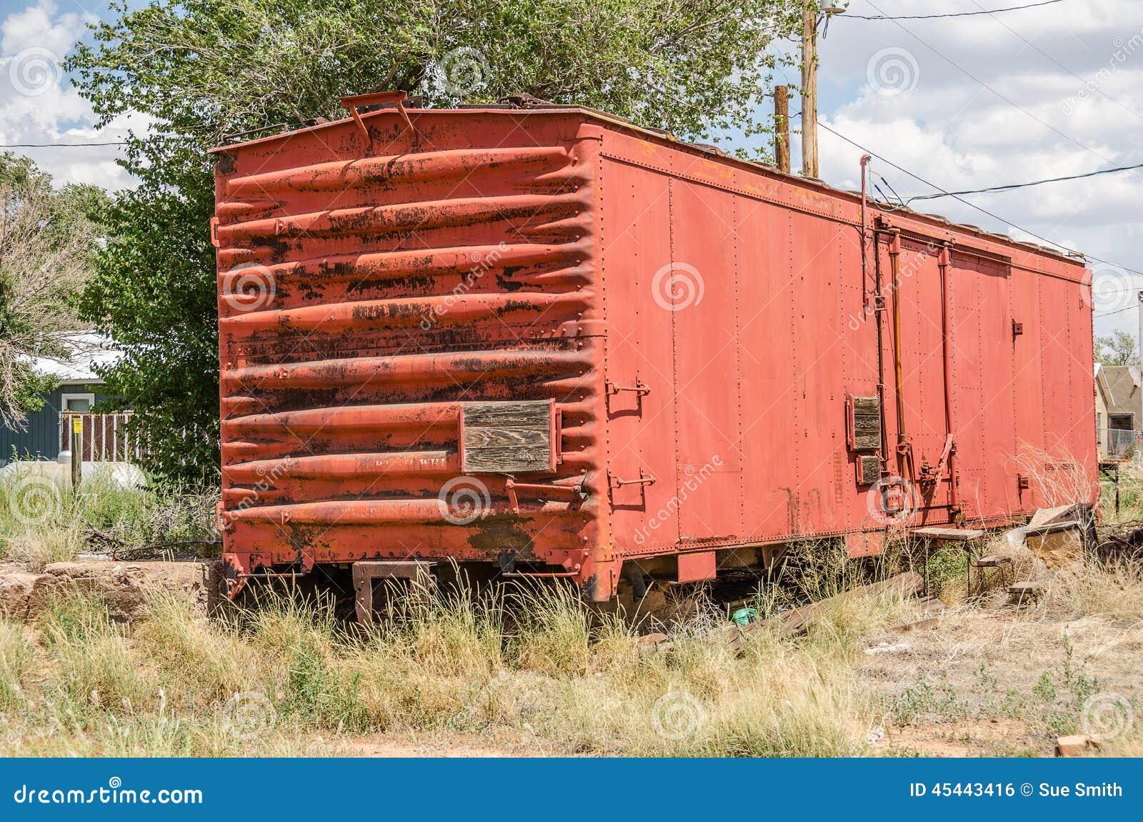 Boxcar σιδηροδρόμου