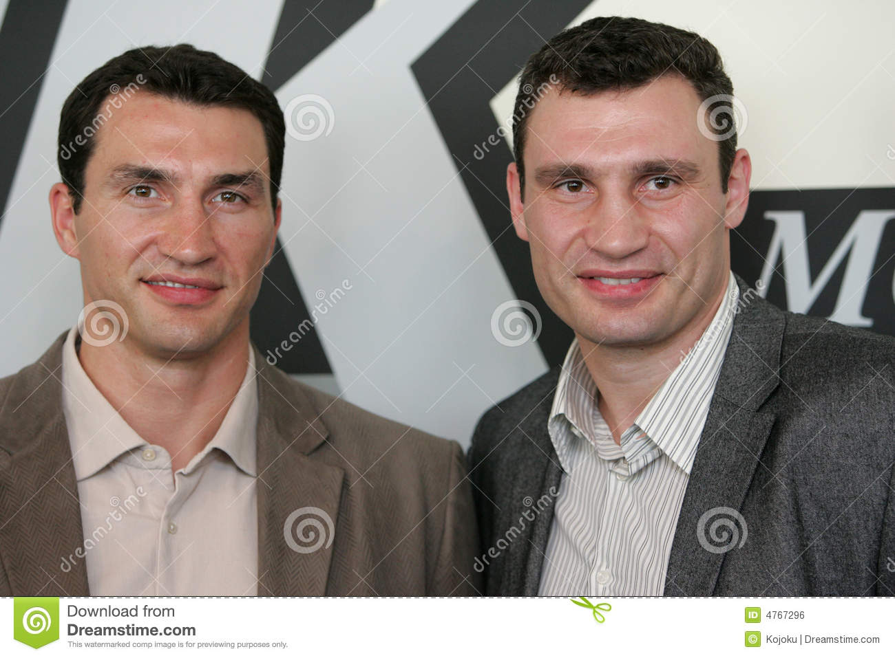 Boxer brothers Klitschko editorial photo  Image of champion