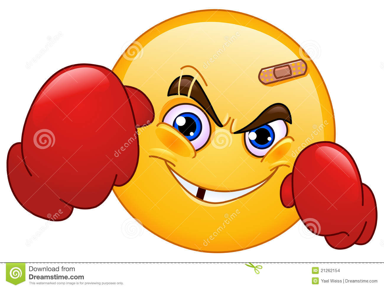 boxer emoticon stock images   image 21262154