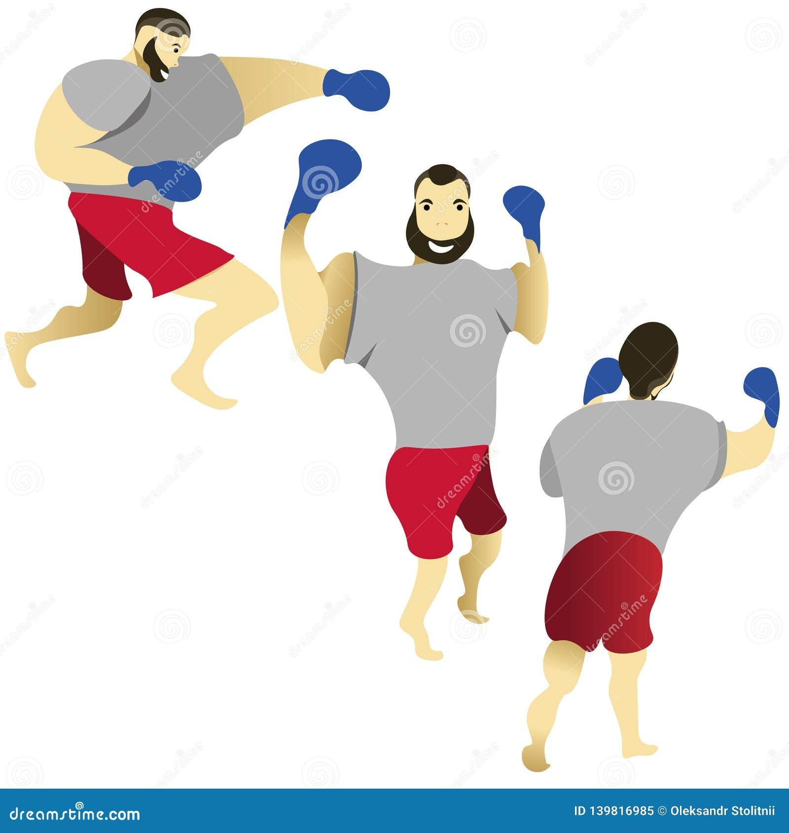 Boxeur Formation de boxeur Battements de boxeur