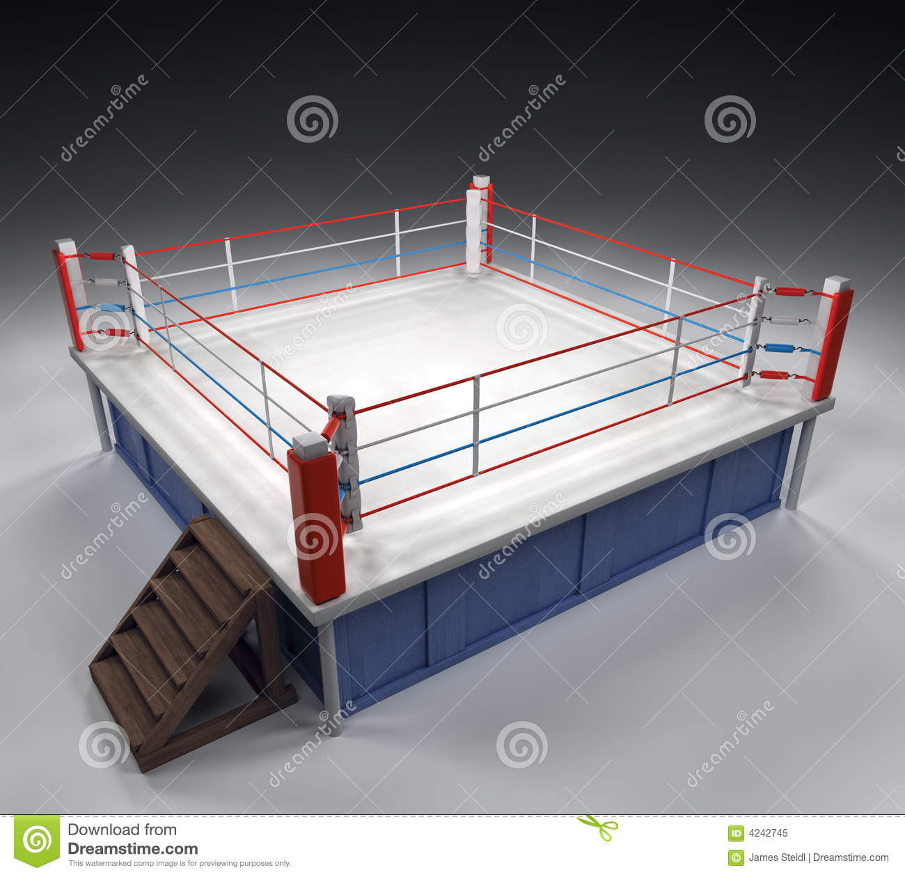 Boxing Arena Royalty Free Stock Photo - Image: 4242745