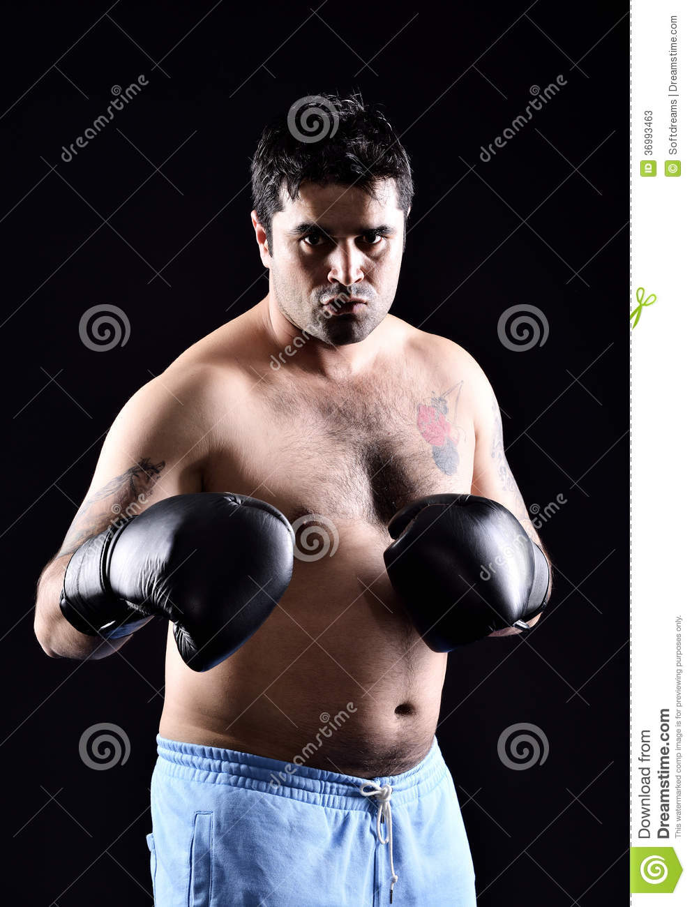 Boxing Boxer Stock Photos - Image: 36993463 Angry Black Woman Face