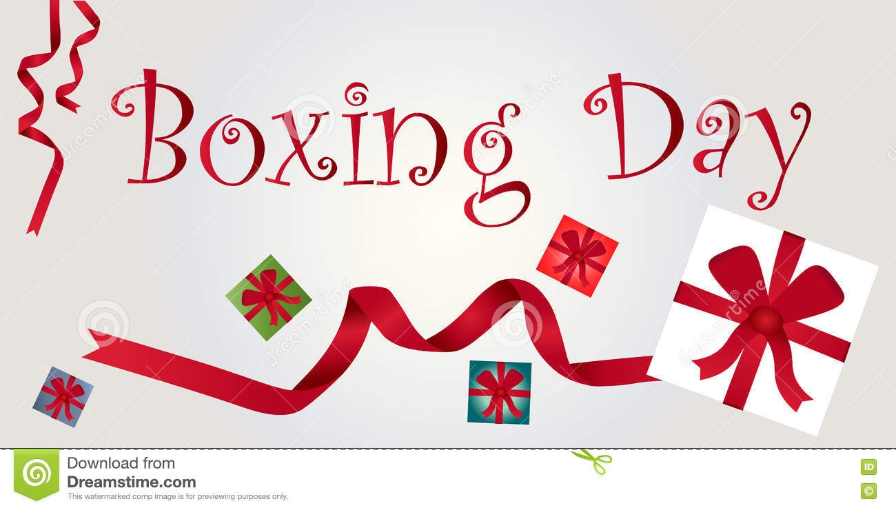 Boxing day, december 26