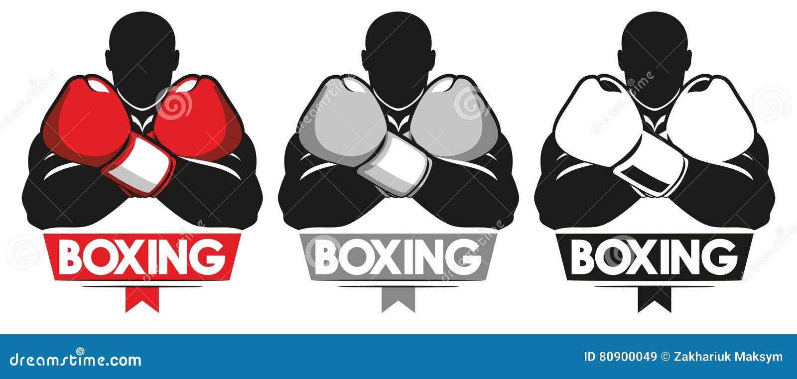 Boxing logo stock vector  Illustration of boxer